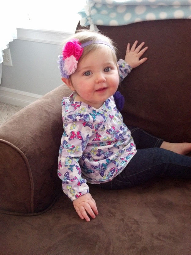 Here is Gracie at Ten Months