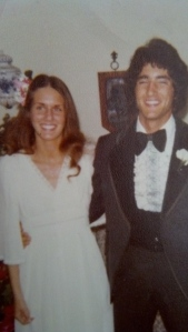 Mom and Dad at their Senior Prom. I wonder if they'd have been able to predict the rest of their lives would be spent together.